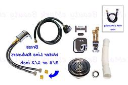 eMark Beauty Plumbing Parts Kit for use with Shampoo Bowls S