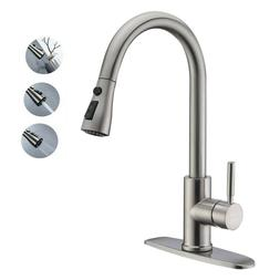 Kitchen Sink Tap3 Hole Stainless Steel Kitchen Faucets with