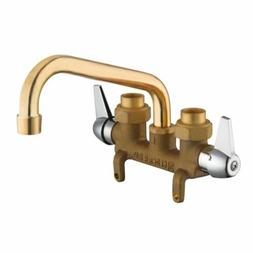 Laundry Faucet 3.5 in. Centerset Installation 2-Lever Handle